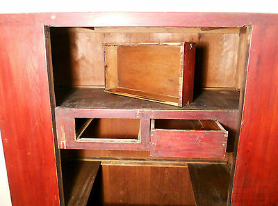 Antique Chinese Cabinet (5133) Wedding Cabinet 9