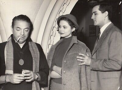 ©G.B.Poletto , Martine Carol,Vittorio Gassman 3 photos1956 #008 3