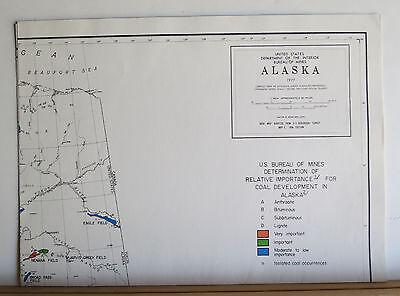 Alaska's Mineral Potential 1978 Oil Gas Geothermal Uranium Metals Coal 8 Maps 11