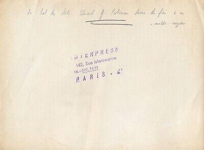 Edward G.Robinson, le Bal des Arts 1947 , tirage argentique  vintage 2