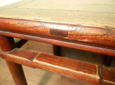 Antique Chinese Ming Meditation Bench (5791), Circa 1800-1849 6