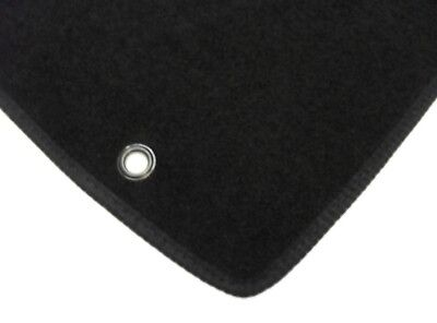 Hyundai i20 2008-2014 Fully Tailored Deluxe Car Mats in Black 2 x Fixing Version