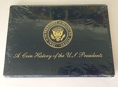 Un Monedas Historia U. S. Presidentes 19 Menta en Latón Macizo el Álbum Incluido 2