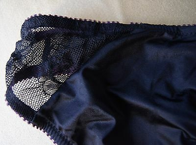 Hot Milk Black/Purple Satin/Lace Tamed By...Briefs 7