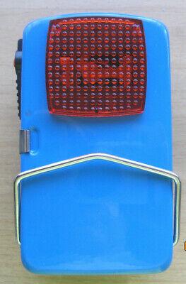 Metall Taschenlampe Handlampe Signallampe mit rot grün klar Farbe 4,5V Batterie