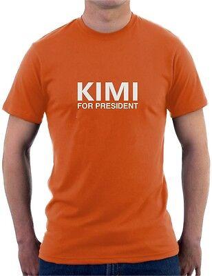 KIMI FOR PRESIDENT - F1 Formula 1 Kimi Raikkonen - Mens Womens Kids T-Shirt 9
