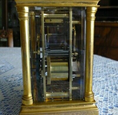 Antique  Couaillet  French Repeater Carriage Clock Around 1870/1900 7