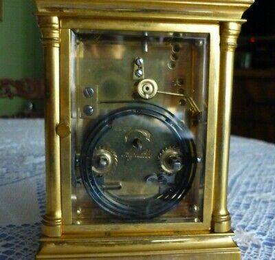 Antique  Couaillet  French Repeater Carriage Clock Around 1870/1900 9
