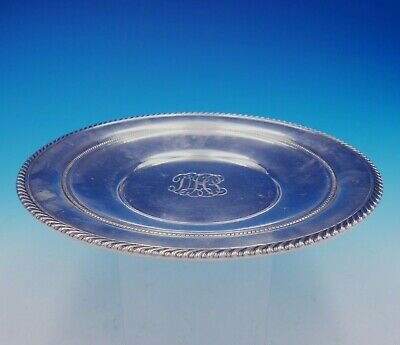 English Gadroon by Gorham Sterling Silver Serving Plate Round #414 (#3355) 2