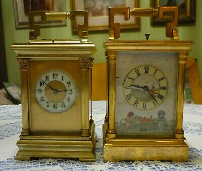 Antique  Couaillet  French Repeater Carriage Clock Around 1870/1900 4