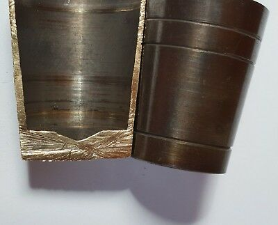 """PICK ANY 5 assorted SOLID BRASS WALKING STICK """"ULTRA"""" FERRULES for STICK MAKING 6"""
