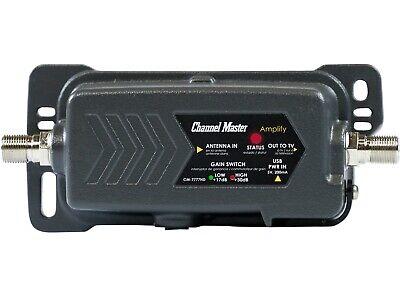 Channel Master Amplify TV Antenna Preamplifier & Stream+ OTA DVR Bundle 2
