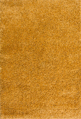 New Trendy Affordable Nordic Ochre Mustard Shaggy Thick Living Room Large Rug 6