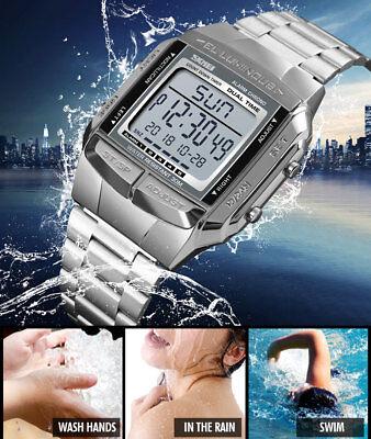 SKMEI Watch Luxury Sport Mens Watches Waterproof LED Digital Military Wristwatch 10