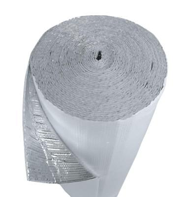 48 In. X 125 Ft White Single Reflective Bubble Insulation Radiant Barrier 500sft 2