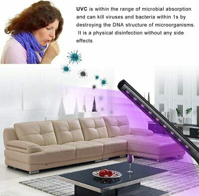 Lampada Sterilizzazione Germicida UVC Portatile ricarica USB 10w ricaricabile 5