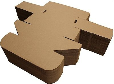 "8x4x4"" SHIPPING STORAGE BOXES CARDBOARD POSTAL MAILING GIFT PACKET SMALL PARCEL 6"
