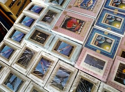 Wholesale 63 different MNH S/Sheets, SPACE, 70x years, High CV 3