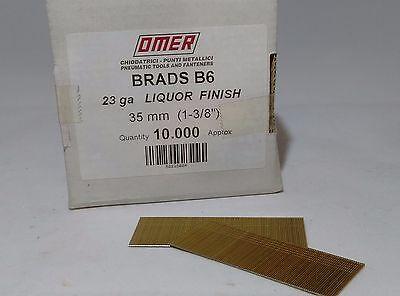 23 GAUGE MICRO BRADS FOR OMER B6.35 B6