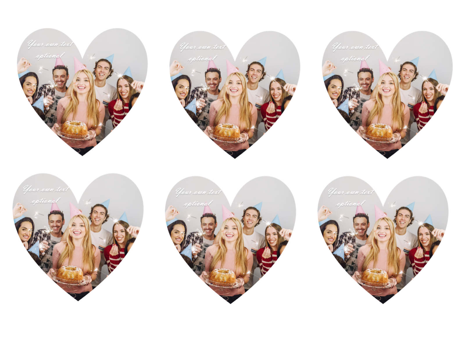 YOUR OWN EDIBLE PHOTO cupcake toppers ANY personalised image ICING OR WAFER 10