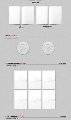 GOT7 JUS2 [FOCUS] Mini Album CD+POSTER+Book+Lyrics+2p Card+Pre-Order+GIFT SEALED 7