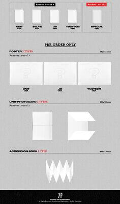 GOT7 JUS2 [FOCUS] Mini Album CD+POSTER+Book+Lyrics+2p Card+Pre-Order+GIFT SEALED 8
