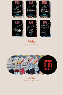 NCT DREAM RELOAD 4th Mini Album CD+POSTER+Book+F.Poster(On)+2Card+GIFT 8