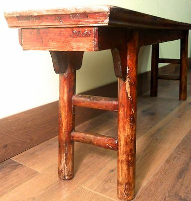 Antique Chinese Ming Bench (3273), Cypress Wood, Circa 1800-1849 11