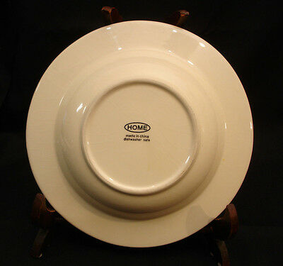 """ANTHROPOLOGIE THE ATTINGHAM COLLECTION SALAD SIDE PLATE 8 1//4/"""" YELLOW VINES"""