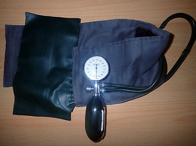 Blutdruckmesser ERKA 234707 Perfect Aneroid + Stethoskop, antik, gebraucht!