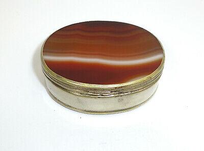 Pill Box um 1900 Can Agate 2
