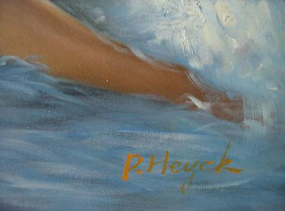 ,,Nude am Strand´´ Ölgemälde Öl auf Leinwand 60x50 cm Gemälde 6