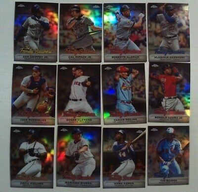 2019 Topps Chrome Update The Family Business You Pick from Drop List 2