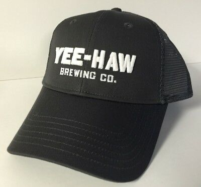 1b604b9ee25b85 ... YEE HAW BREWING Co Embroidered Hat ~ Two (2) PK. Fine Southern Beer