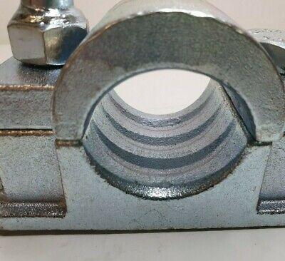Jockey Wheel Steel Clamp 48Mm Serrated Ribbed Trailer Prop Stand Maypole Mp97455 3