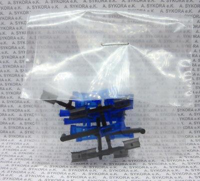 blautransparent 1:87 10 Stück Herpa 053419 Warnbalken Hella RTK-7