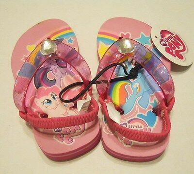 6243c0ab2281 ... My Little Pony Girls Flip Flop Beach Shoes Medium 7-8 Water Toddler  Baby Kids
