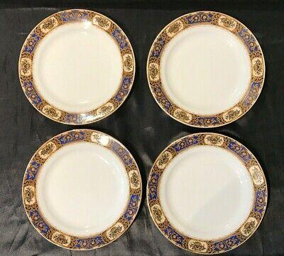 Vintage Victoria China Czechoslovakia Vit68 Set Of 4 Salad / Dessert Plates 9