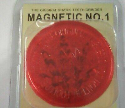 3 PART 60mm GRASSLEAF No1 MAGNETIC GRINDERS, FOR GRINDING GRASS/HERB/SPICE 3