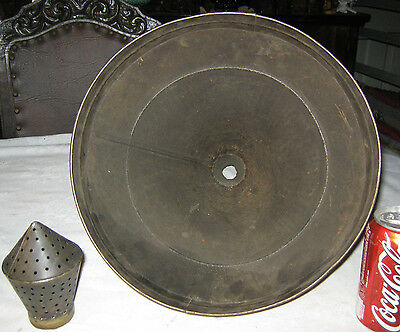 Antique Country Primitive Fower Garden Art Fineal Grape Wine Funnel Sieve Tool 8