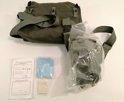 Serbian /Yugoslavian NBC protective Gas Mask M2+40mm Filter + Bag Complete Kit 10