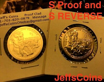 2018 PDSS Proof & REVERSE Native American Sacagawea Coins New Golden Dollars P D 5