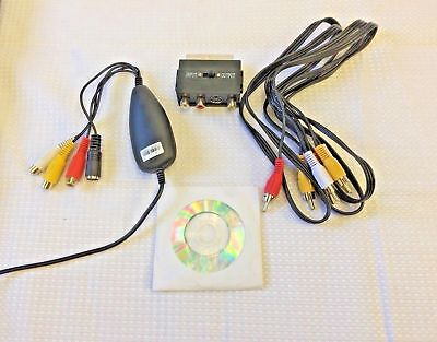 MiniDV Player / Recorder Kit ~ Convert Copy Mini DV to DVD, PC + CAMCORDER! 4