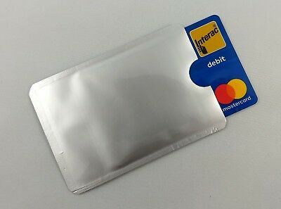 RFID Blocking Credit Card Sleeve - 8 Pack Theft Protector Chip Shield 2