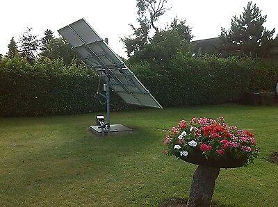 Photovoltaik-hausanlagen Sofort Per Mail-bauanleitung Nachführanlage Sonnennachlauf Solaranlage Tracker Heimwerker