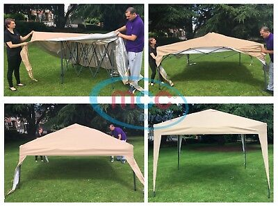 Mcc® 3x3m Pop-up Gazebo Waterproof Outdoor Garden Marquee Canopy 4