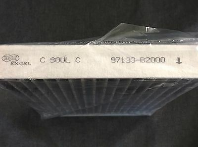 Double Pack Cabin Air Filter For Kia Soul 2014-2017 OEM 97133-B2000 Fast Ship!!
