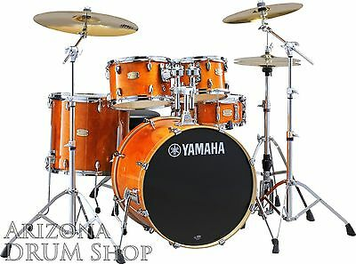 Yamaha Stage Custom Birch Drum Set Shell Pack Honey Amber W 20