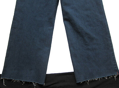 New Womens Blue Crop Ankle Wide Leg NEXT Jeans Size 16 14 12 10 6 RRP £28 8