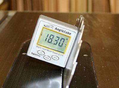 iGaging Angle Cube Digital Protractor Gauge Magnetic Angle & Level Sensor Bevel 5